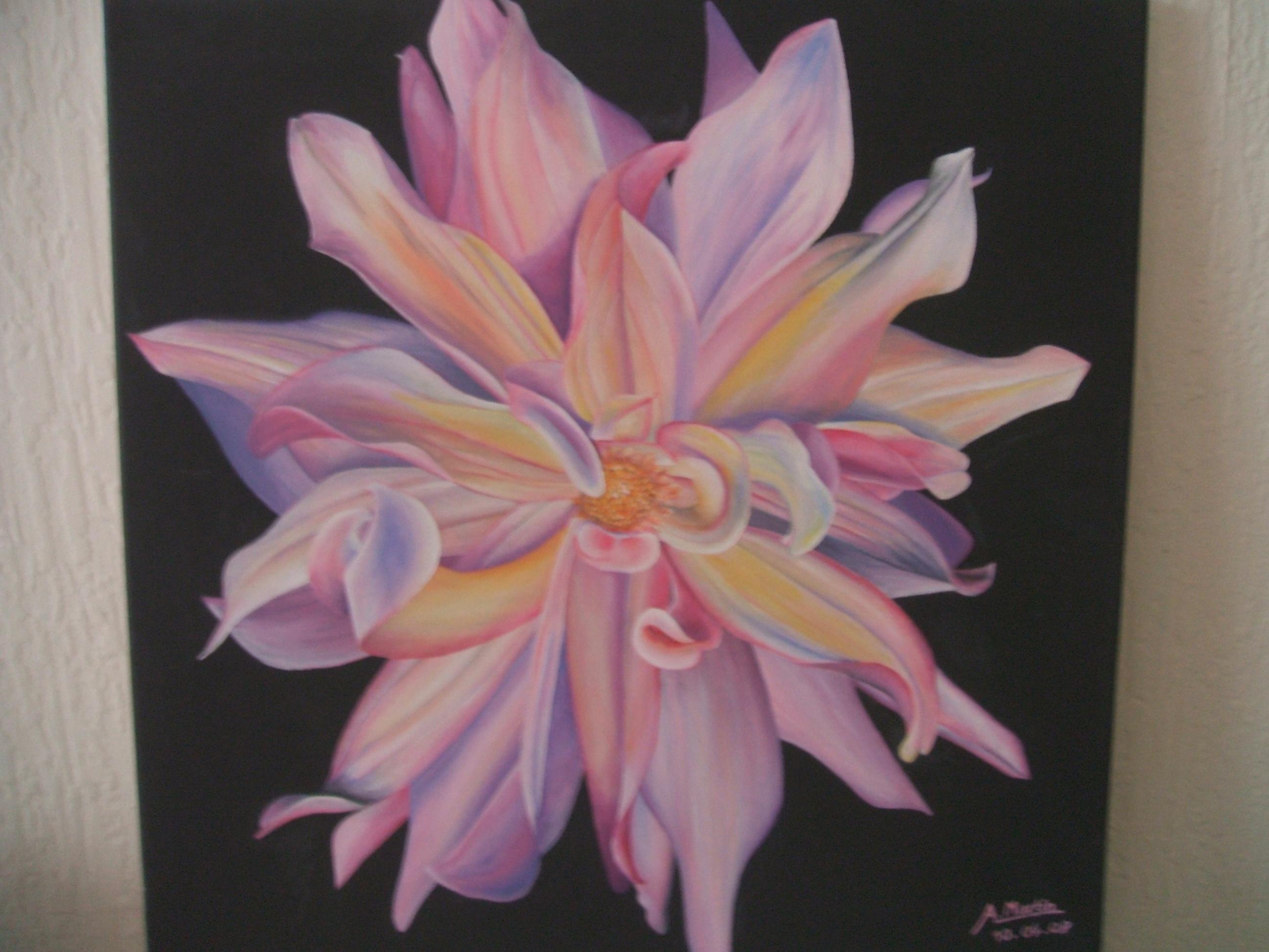 Fleur macroscopique